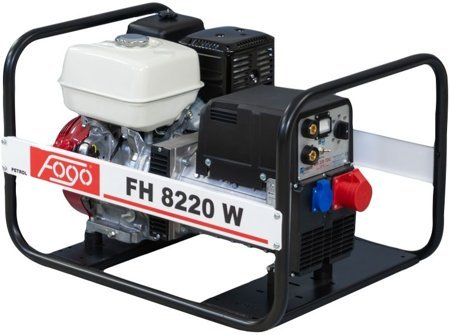 Agregat prądotwórczy FOGO FH 8220 W z funkcją spawania + Olej + Darmowa DOSTAWA
