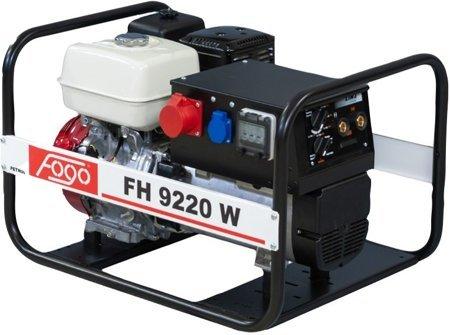 Agregat prądotwórczy FOGO FH 9220 W z funkcją spawania + Olej + Darmowa DOSTAWA