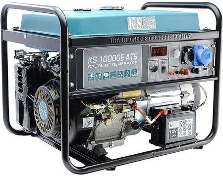 Agregat prądotwórczy KONNER & SOHNEN KS 10000E ATS + Olej + Zestaw Transportowy