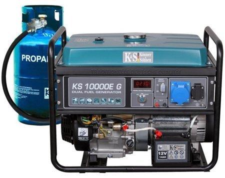 Agregat prądotwórczy KONNER & SOHNEN KS 10000E G + Olej + Darmowa DOSTAWA